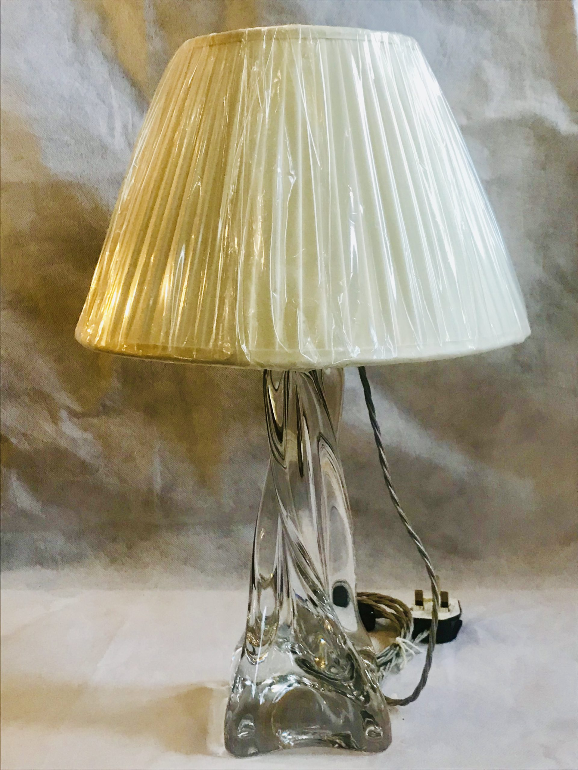 Image of: Baccarat Crystal Table Lamp Tl 148 Retouch Lighting